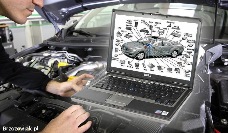 Laptop do diagnostyki samochodowej i nie tylko DELL D630 z portem RS-232 COM