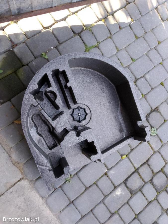 Wkład bagażnika koła zapasowego