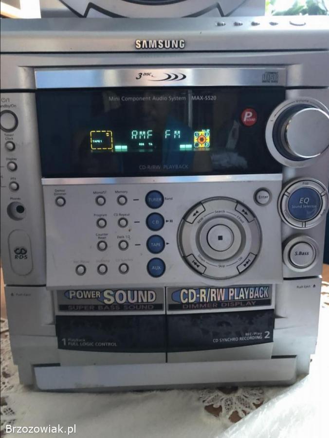 Wieża samsung MAX-S520