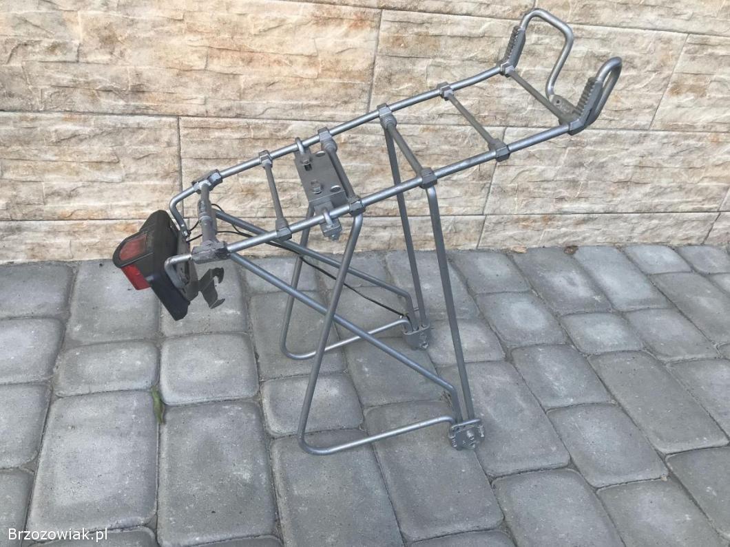 Bagażnik do roweru aluminiowy.