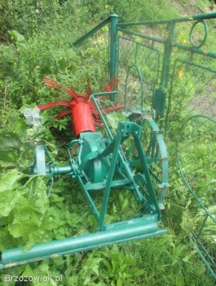Kopaczka konna przerobiona na podnosnik do traktora