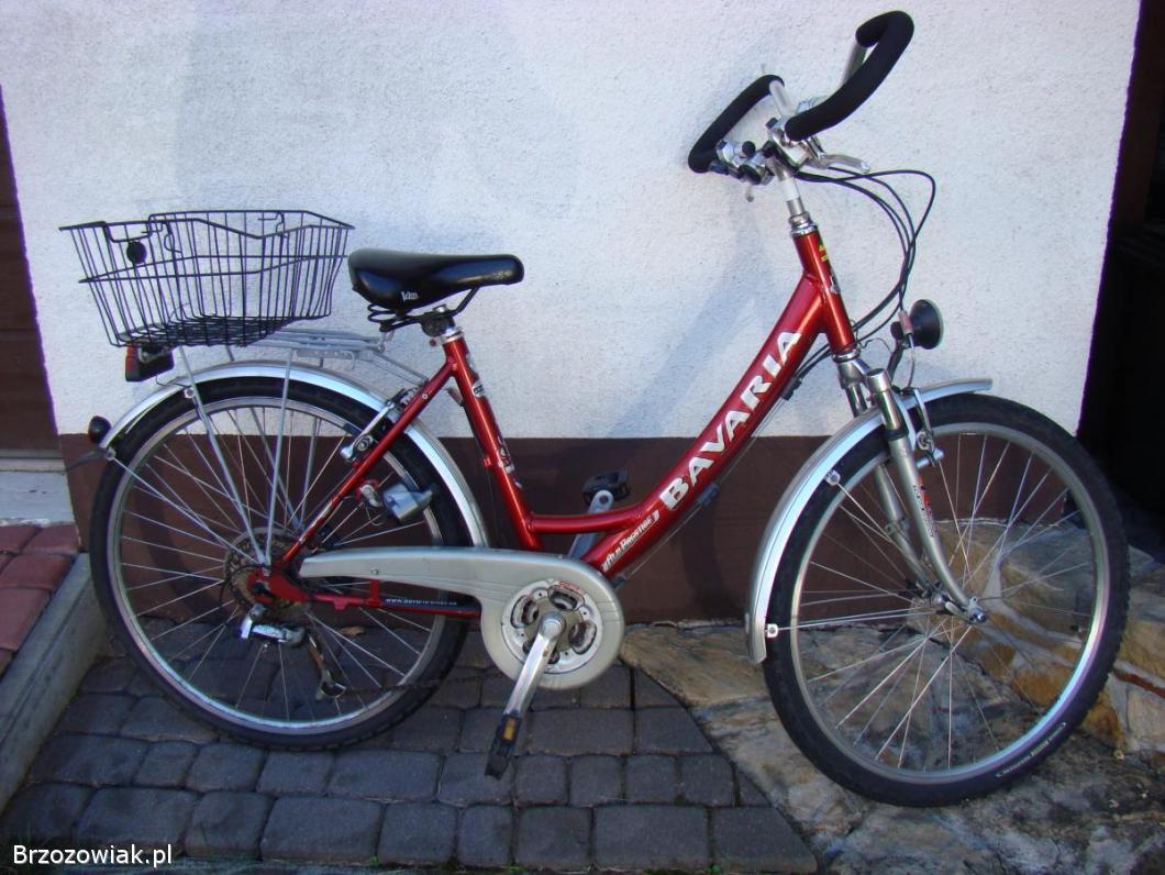Aluminiowy rower damski BAVARIA