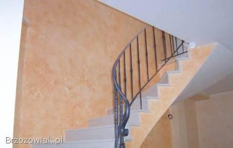 Wykonam Tynki dekoracyjne klatki schodowe salony