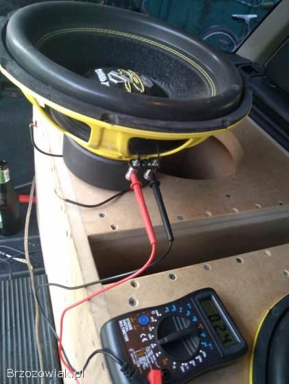 Sprzedam car audio tubę skrzynie 2x1000tys graund zero